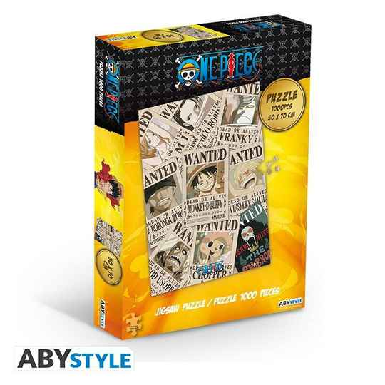 ONE PIECE - Jigsaw Puzzle 1000 pieces - Wanted gs15043