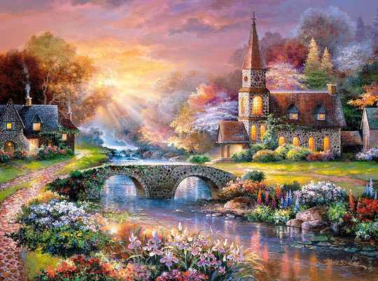Peaceful Reflections -  Puzzle 3,000 pieces gs15032