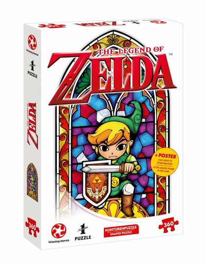 The Legend of Zelda Jigsaw Puzzle Link The Hero of Hyrule  Gs13843
