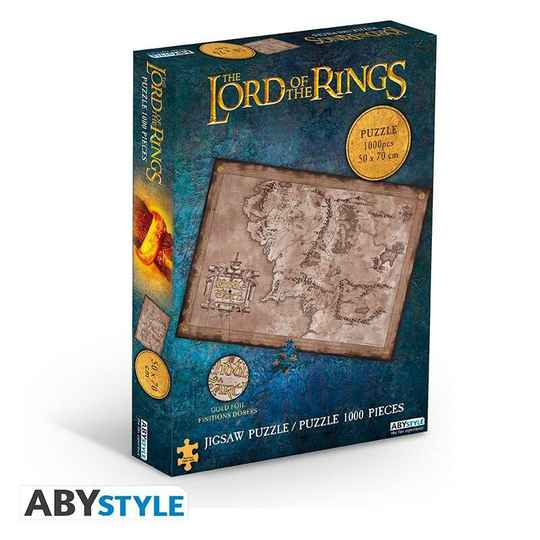 LORD OF THE RINGS - Jigsaw Puzzle 1000 pieces - Middle Earth gs15042