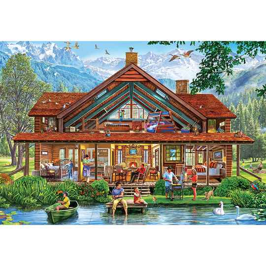 XXL Pieces - Camping Lodge -  Puzzle 1,000 pieces gs15027