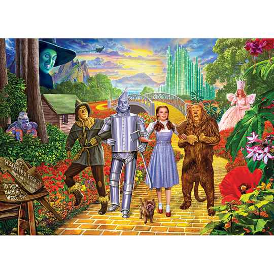 The Wizard of Oz - Off to See the Wizard -  Puzzlel 1000 Stukjes Gs15159