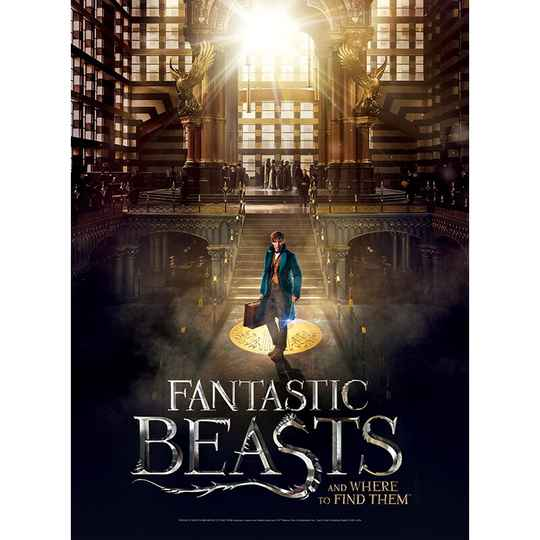 Poster Jigsaw Puzzle - Fantastic Beasts - Macusa  -  500 pieces GS12932