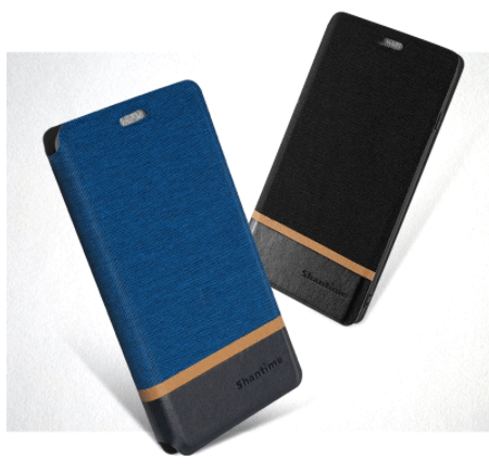 Canvas case with soft silicon back-case