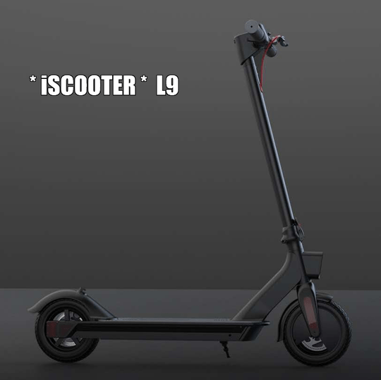 * iSCOOTER * L9   8.5 inch   max speed 25 km/h