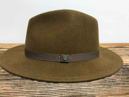 Brixton - Messer Packable Fedora Coffee