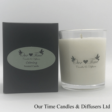 Small Wax Filled Candle Calming