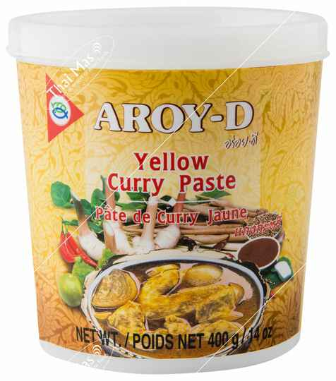 Aroy-D Yellow Curry Paste 400 gr