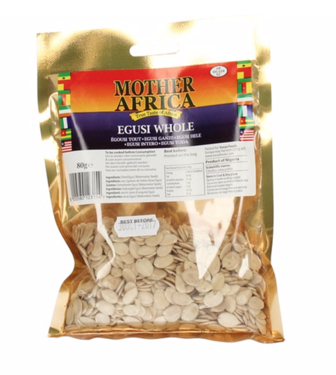 Mother Africa Egusi Whole 80 gr