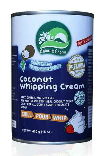 Nature's Charm Coconut Whipping Cream 400 gr