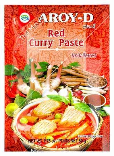 Aroy-D Red Curry Paste 50 ml