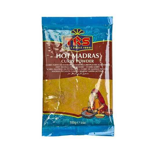 TRS Madras Curry Hot 100gr