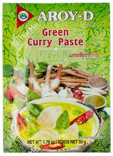 Aroy-D Green Curry Paste 50 gr