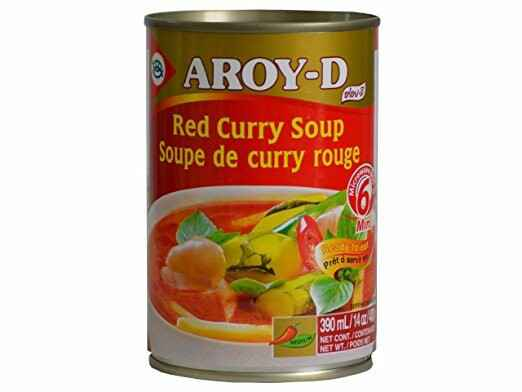 Aroy-D Red Curry Soep 390 ml