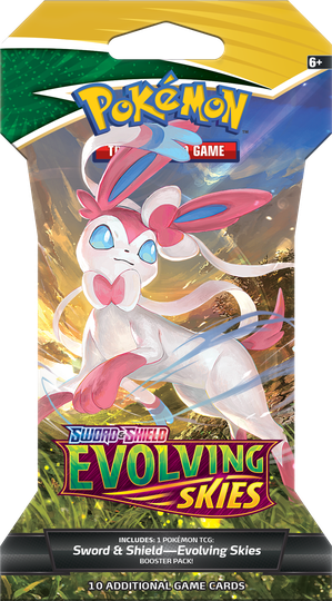 Evolving Skies Sleeved Booster - Sylveon