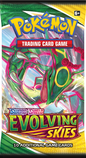Evolving Skies Booster - Rayquaza