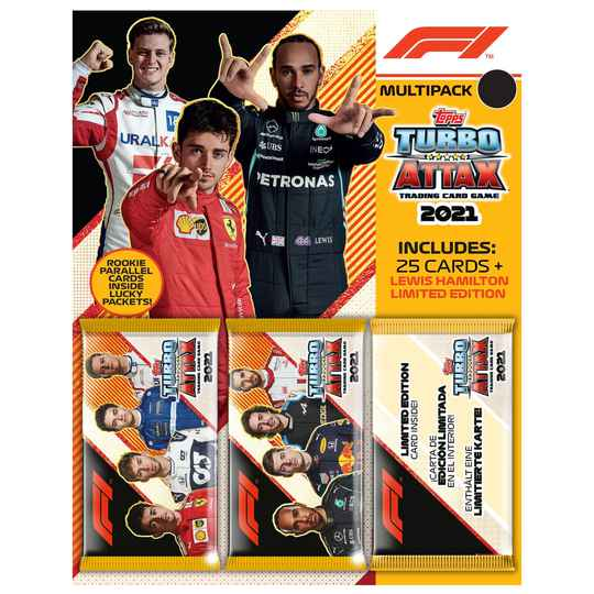 F1 Topps Turbo Attax 2021 - Multipack