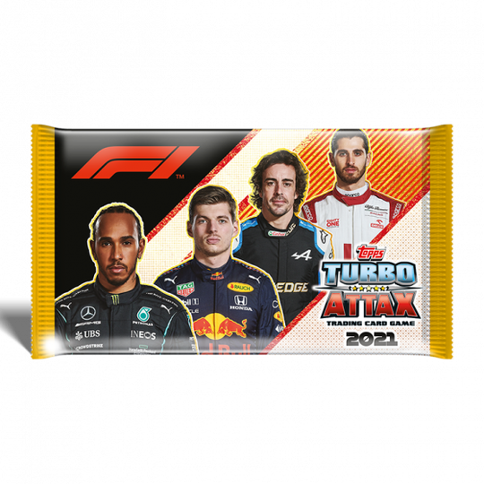 F1 Topps Turbo Attax 2021 - Booster Pack