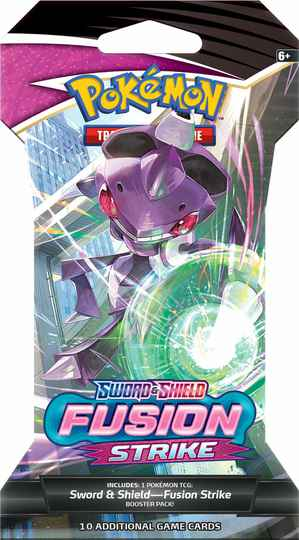 Pokémon TCG: Fusion Strike Sleeved Booster Genesect
