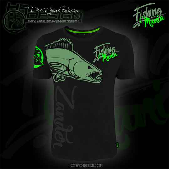 T-shirt Fishing Mania Zander