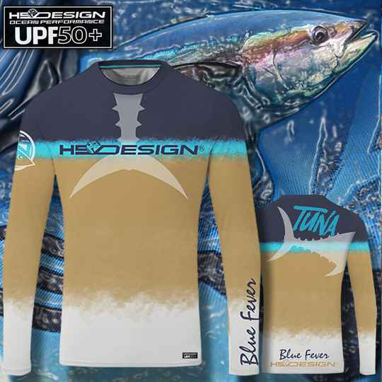 T-Shirt Ocean Performance Tuna