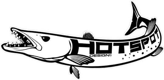 Sticker Barracuda 60x30cm