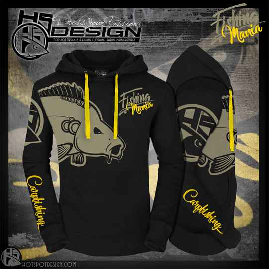 Hoodie Fishing Mania Carpfishing