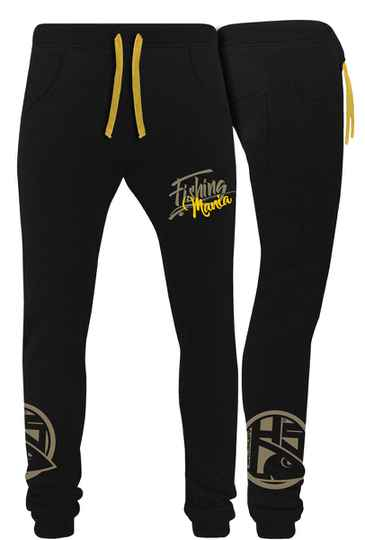 Joggingbroek Fishing Mania Yellow