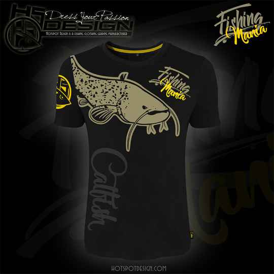 T-shirt Fishing Mania CatFish