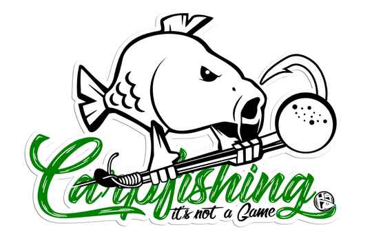 Sticker Carpfishing 30x21 cm