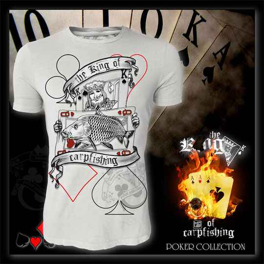 T-shirt The King of Carpfishing