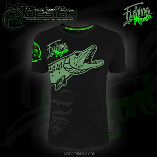T-shirt Fishing Mania Pike