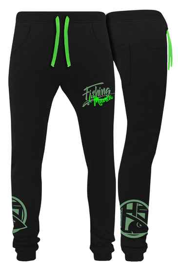 Joggingbroek Fishing Mania Green