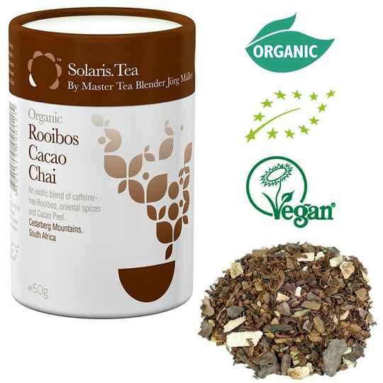 Solaris Biologische Rooibos Cacao Chai Thee - losse thee