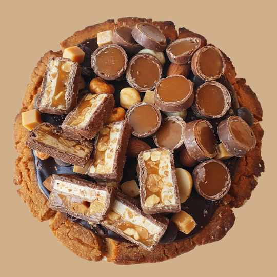Cheat Cookie rolo/snicker
