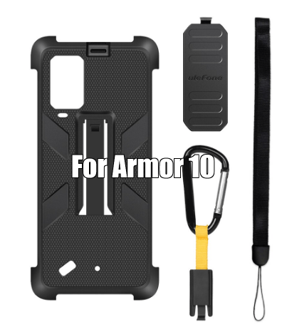 Armor 10 Original Case with Belt Clip and Carabiner