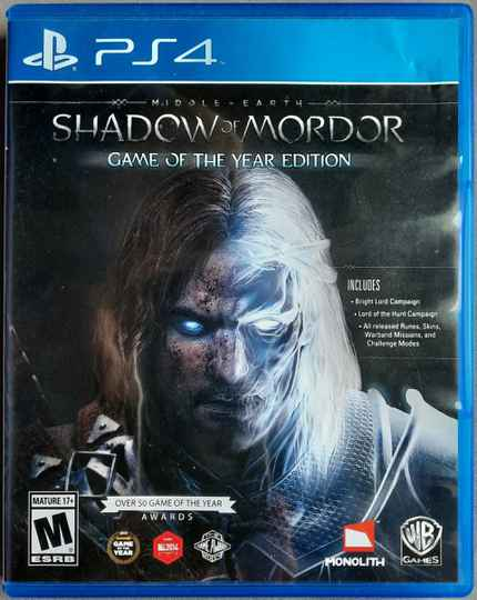 Shadow of Morder GOTY Edition - PS4
