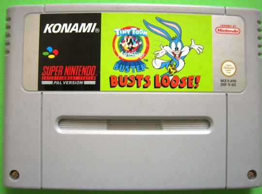 Tiny Toon Adventures - Buster Busts Loose! - SNES