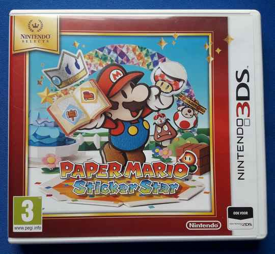 Paper Mario Sticker Star (Nintendo Selects) - 3DS