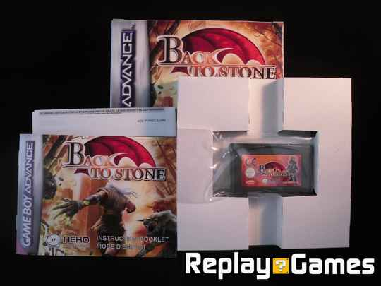 Back to Stone (compleet) - GBA
