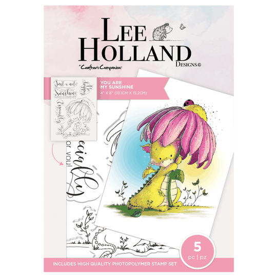 """Crafter's Companion Lee Holland """"You Are My Sunshine"""" (LH-STP-YAMS)"""