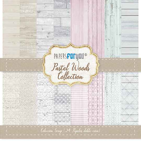 Papers For You Motivpapier - Pastel Wood (PFY-1581)