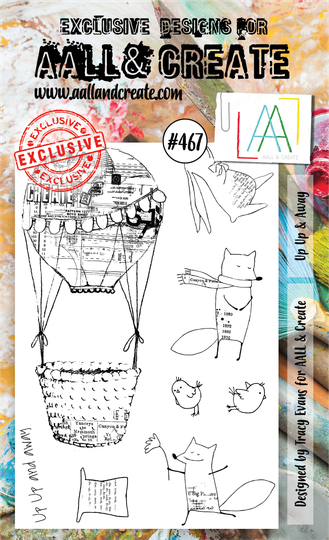 AALL & Create Stempel - Up Up & Away #467