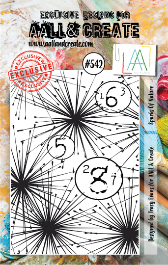 AALL & Create Stempel - Sparks of Nature #542