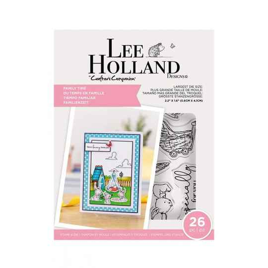 """Crafter's Companion Lee Holland """"Family Time"""" (LH-STD-FAMTI)"""
