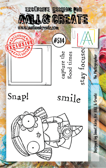 AALL & Create Stempel - The Photographer #514