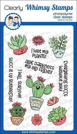 Whimsy Stamps Stempel - Succ It Up (KHB130a)