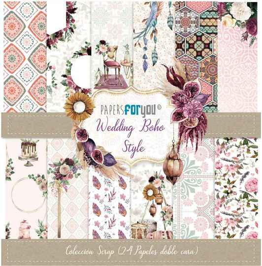 Papers For You Motivpapier - Wedding Boho Style (PFY-3112)