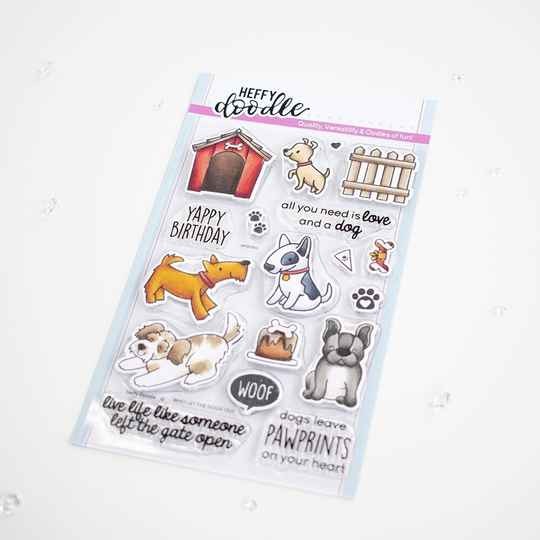 Heffy Doodle Stempel - Who Let the Dogs Out (HFD0300)