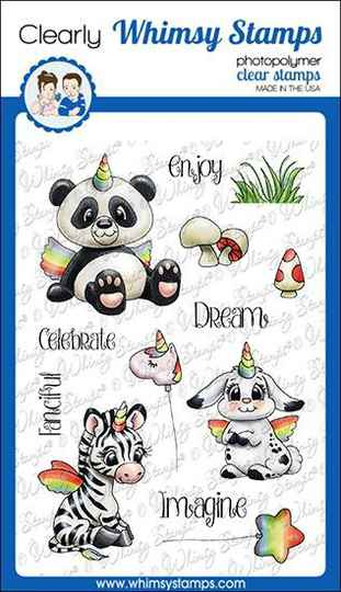 Whimsy Stamps Stempel - Crittercorns (C1359)